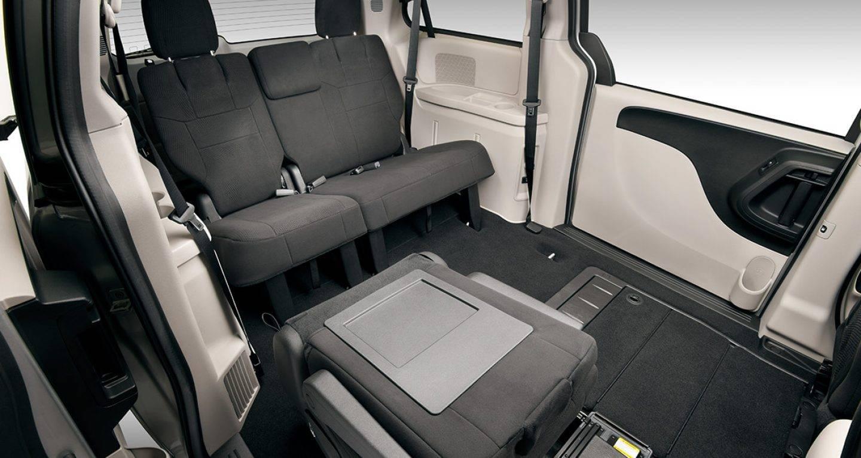 2017 Dodge Grand Caravan Interior Rear