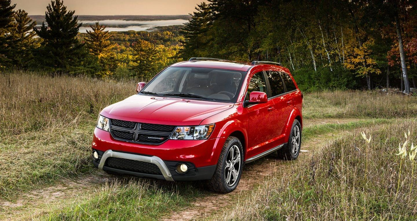 2017 Dodge Journey Front Exterior Red