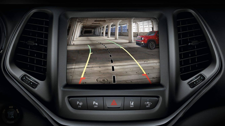2017 Jeep Cherokee Interior Dual-Pane Sunroof