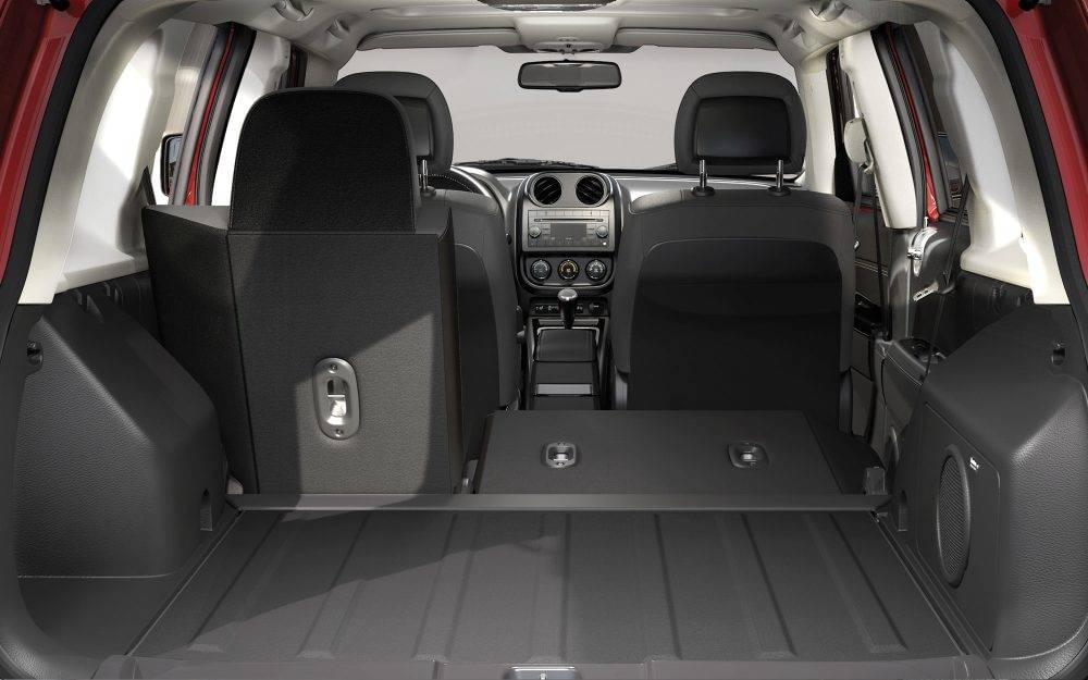 Nice 2017 Jeep Patriot Interior Trunk Images