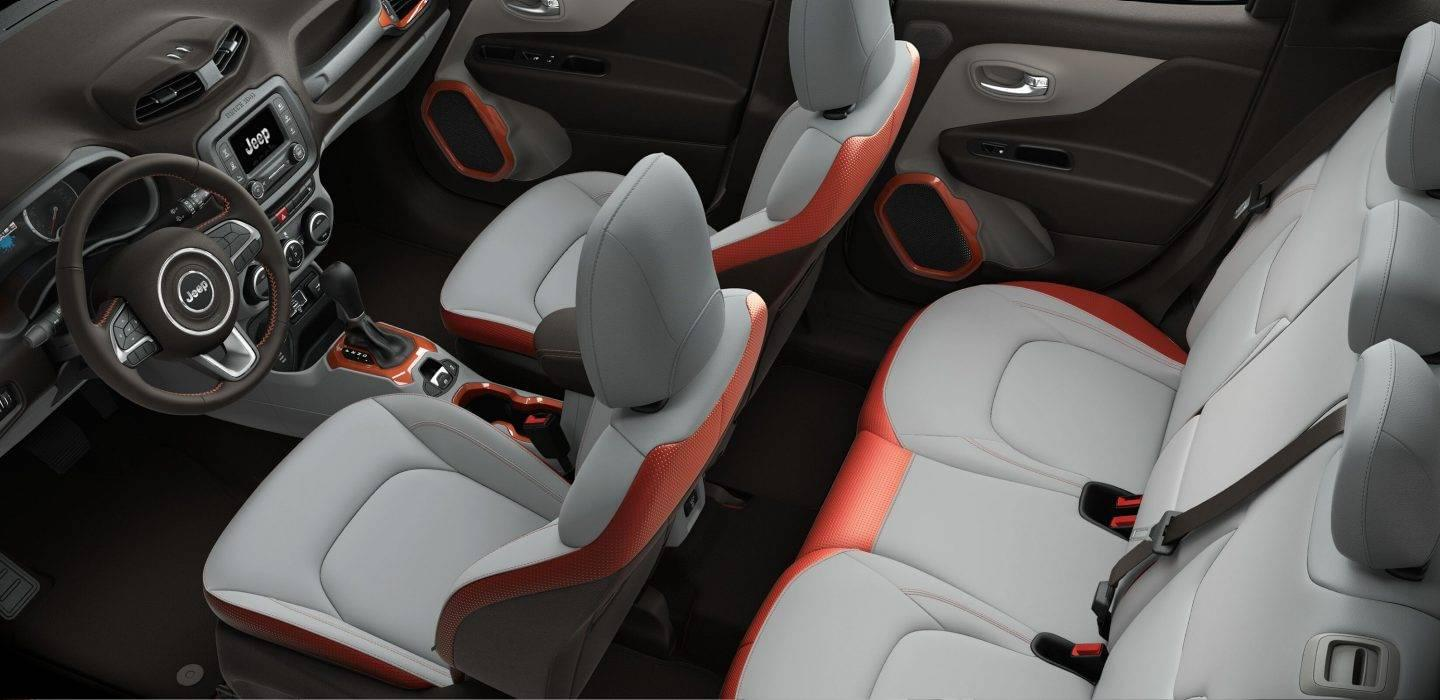 2017 Jeep Renegade Interior Overview