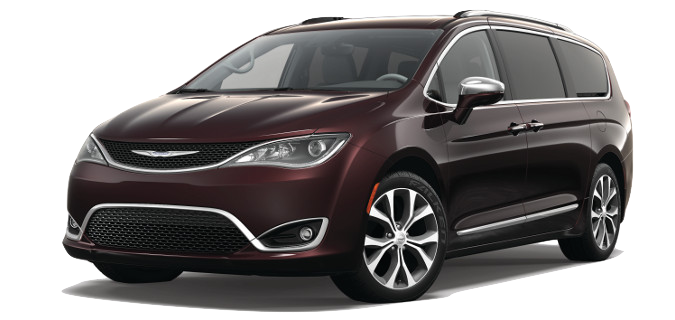 A 2018 Chrysler Pacifica
