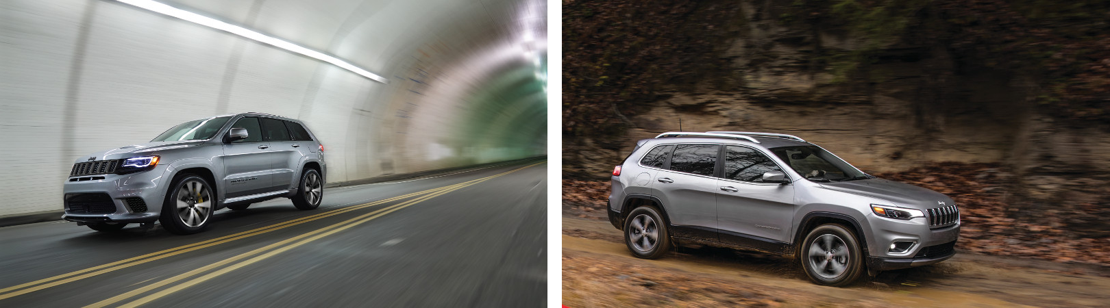 A comparison of the Grand Cherokee and Cherokee performance