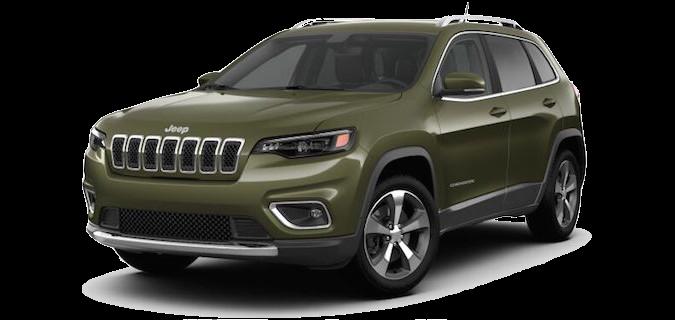 A 2018 Jeep Cherokee