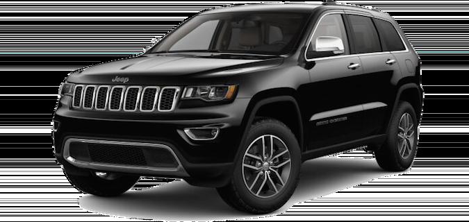 A 2018 Jeep Grand Cherokee