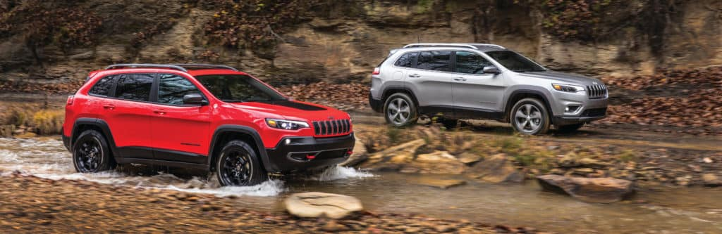 2019 Jeep Cherokee Model Differences Columbia Il