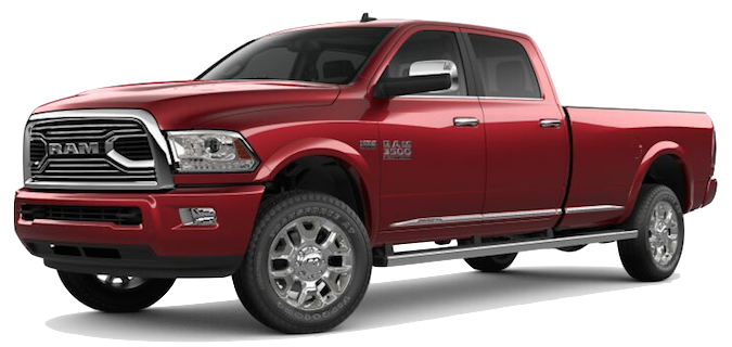 A red Ram 3500