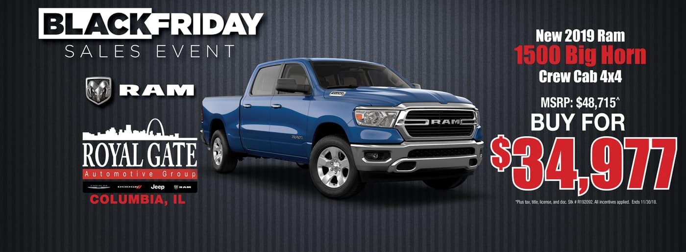 Ram 1500 Big Horn Special Offer