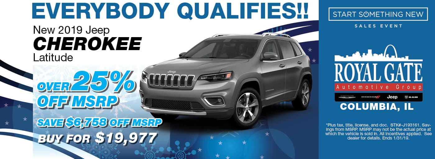 Jeep Cherokee Latitude Special Offer