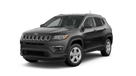 2019 Jeep Compass Latitude on a transparent background
