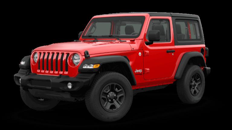 2019 Wrangler Sport 4x4 in Red