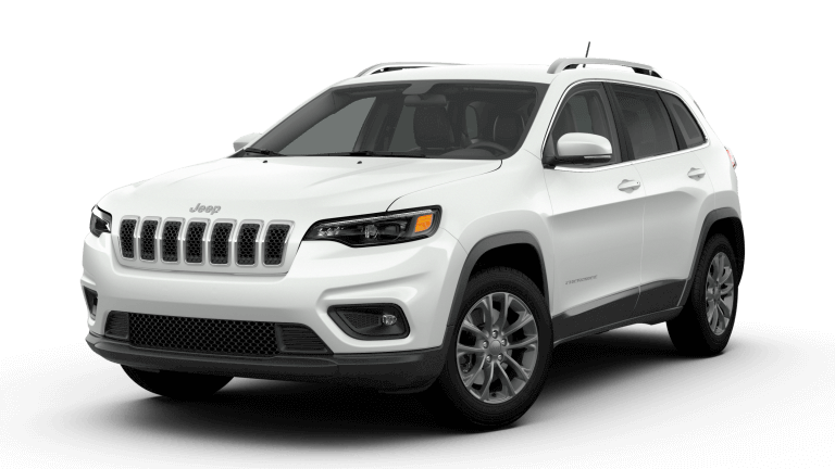 White 2019 Jeep Cherokee Latitude Plus