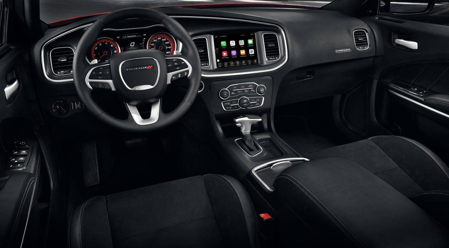 2019 Dodge Charger Interior Detail Steering and Dash