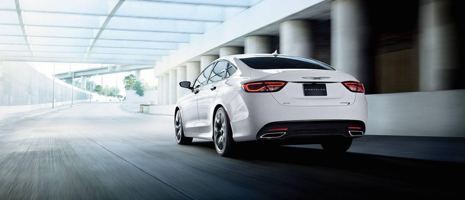 2016 Chrysler 200 Stylish Exterior Rear