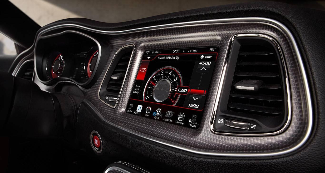 2016 Dodge Challenger Side view Interior
