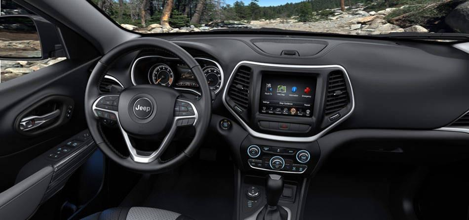 2016 Jeep Cherokee Interior
