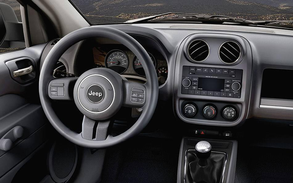 2016 Jeep Patriot Interior