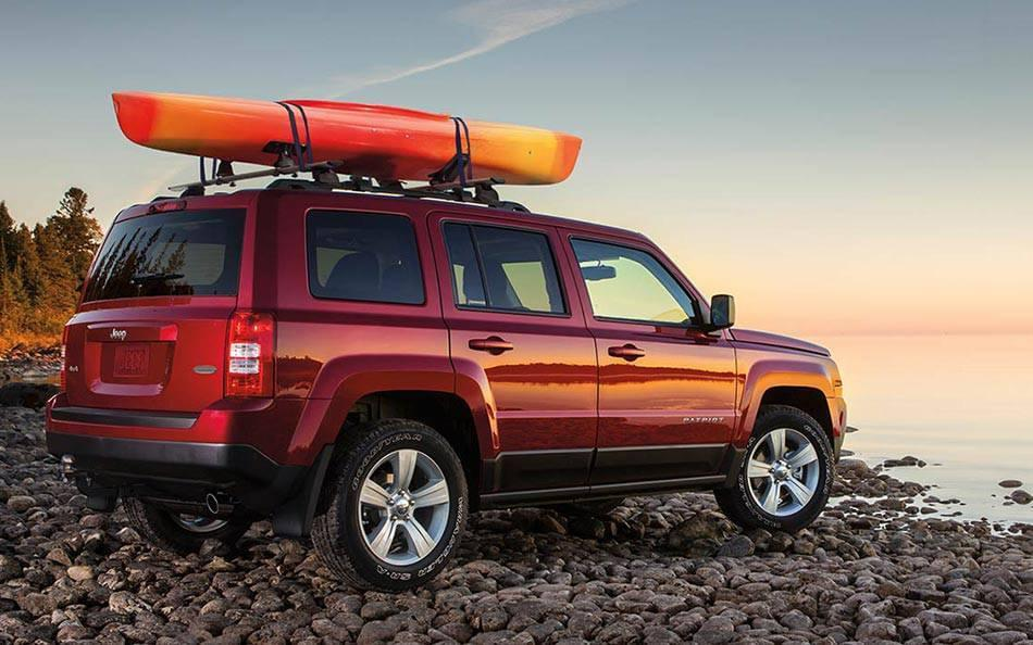 2016 Jeep Patriot Rear Exterior