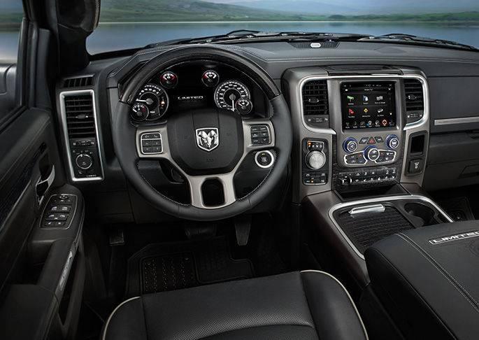2016 Ram 1500 Interior