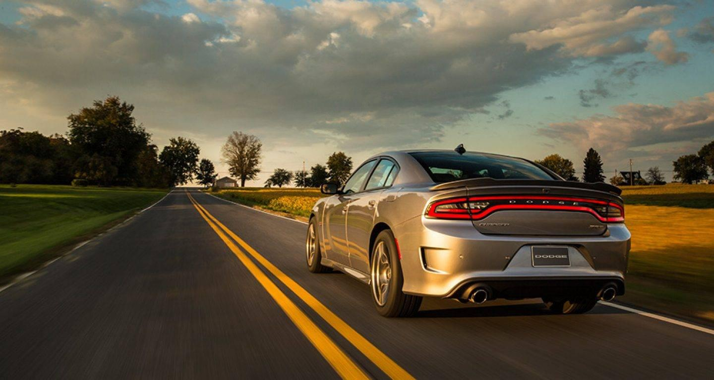 2019 Dodge Charger Silver Rear Exterior