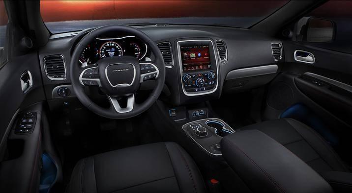 2017 Dodge Durango Leather Seating and Dash Interior