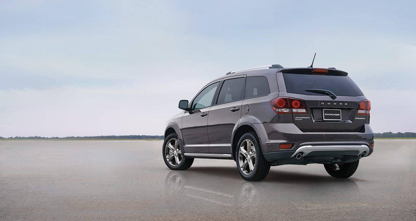 2017 Dodge Journey Rear Exterior Gray