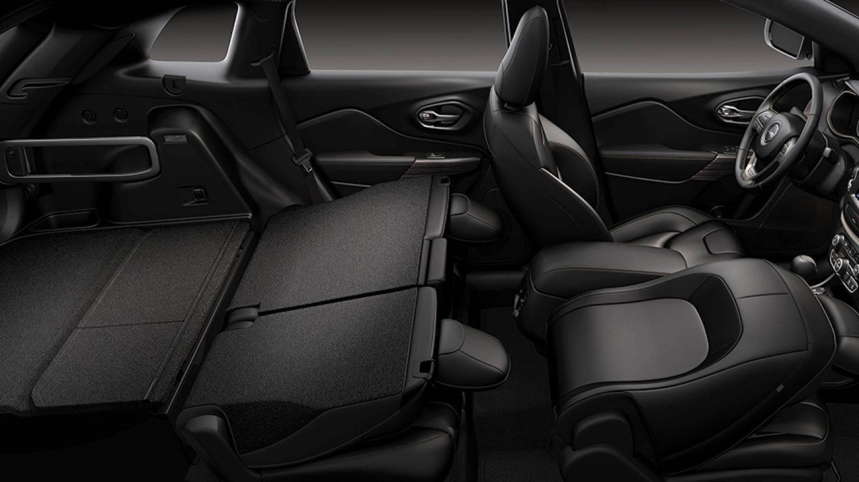 2017 Jeep Cherokee Interior Touchscreen Display