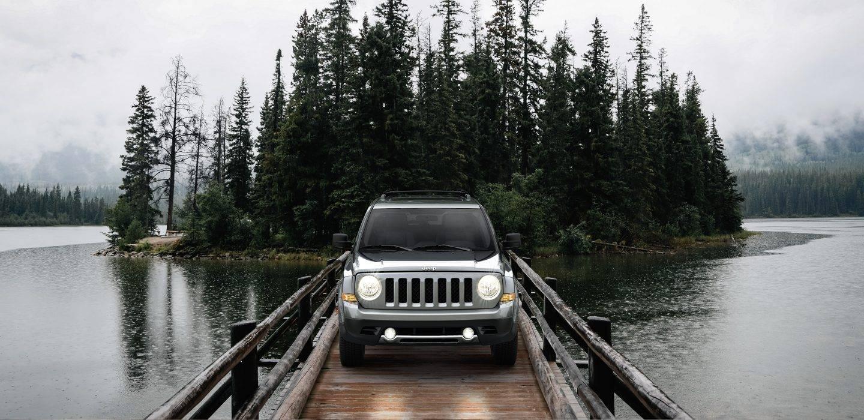 2017 Jeep Patriot Front Exterior Gray