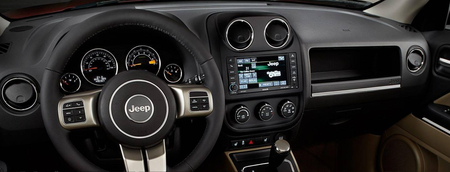 2017 Jeep Patriot Interior Dash