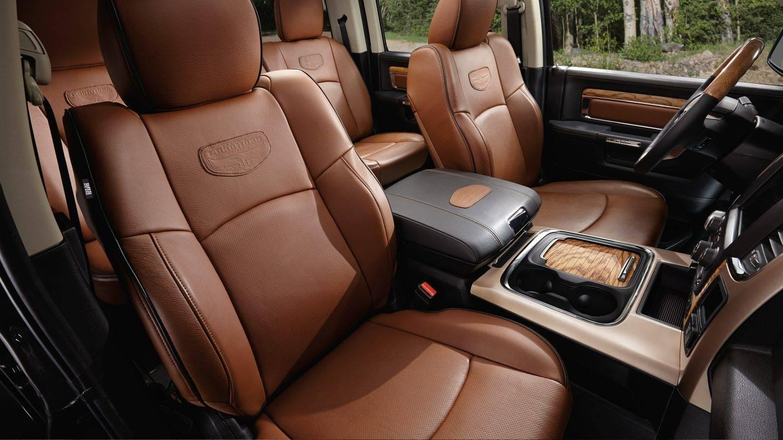 2017 Ram 1500 Leather Interior Seating