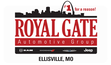 Royal Gate Chrysler Dodge Jeep Ram Ellisville, Mo. 63011