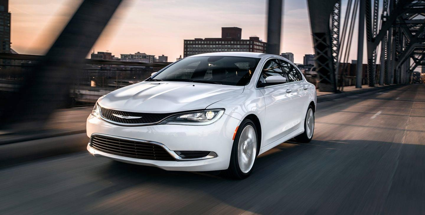 Chrysler 200: Children Too Large For Booster Seats
