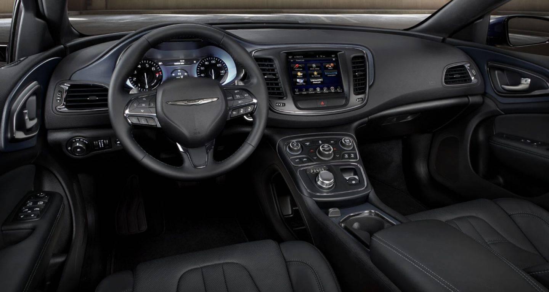 2017 Chrysler 200 Interior Front Dash