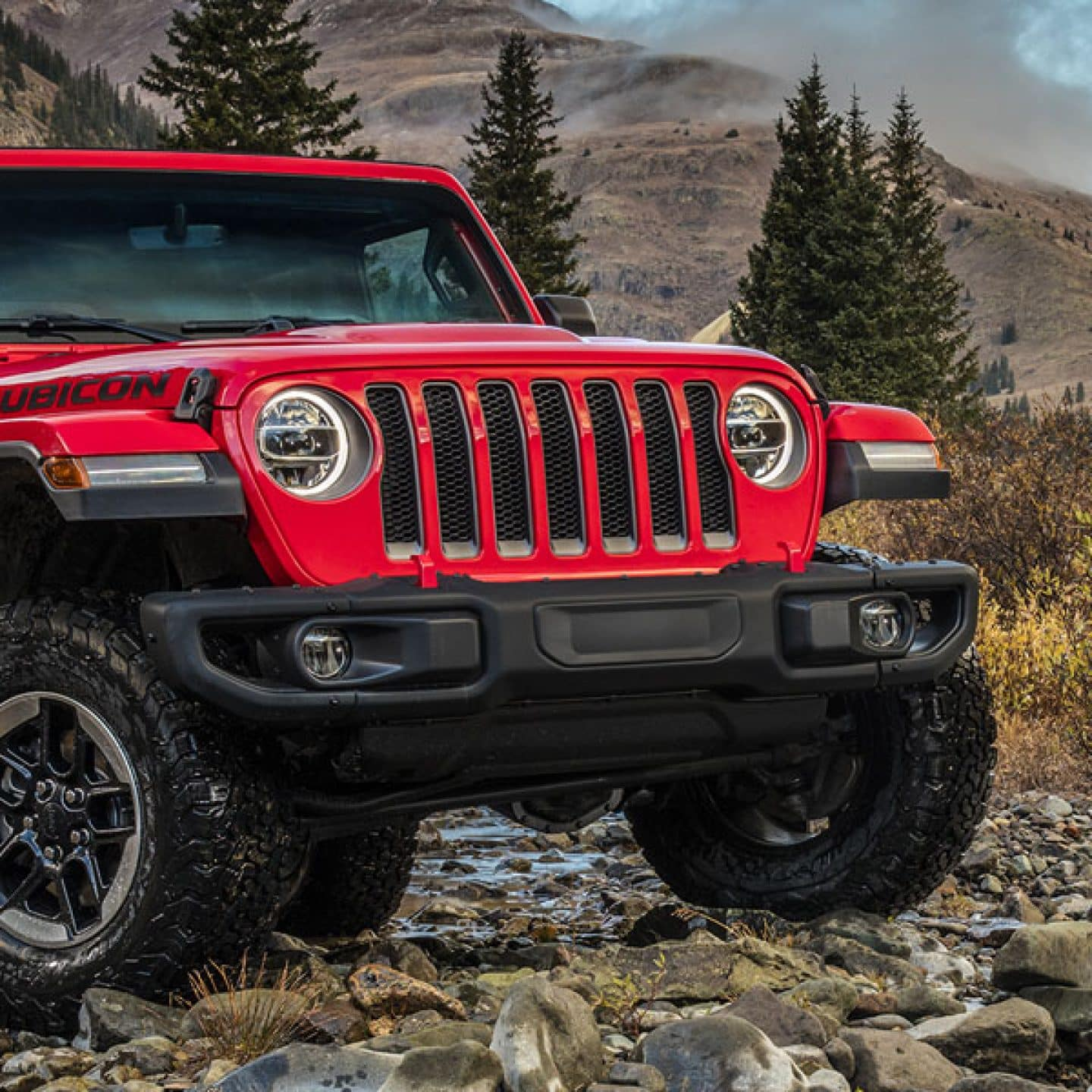 All New Redesigned 2018 Jeep Wrangler