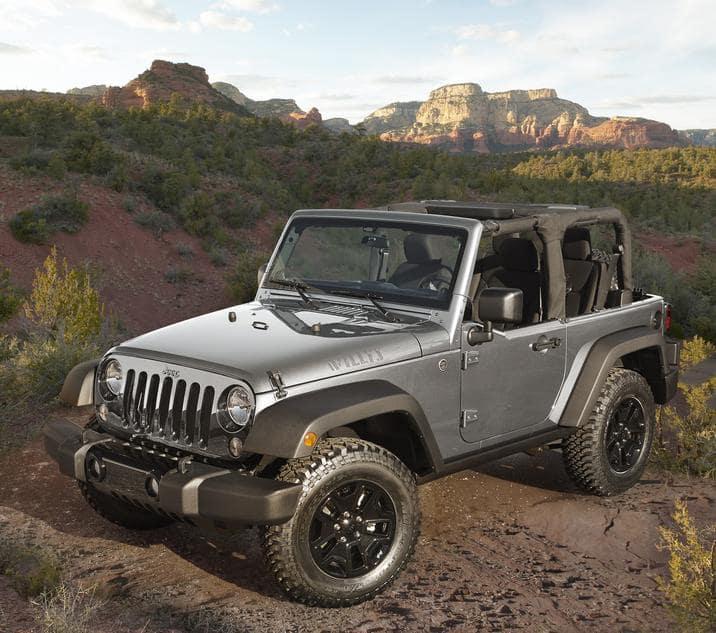 2018 Jeep Wrangler JK Gray Exterior