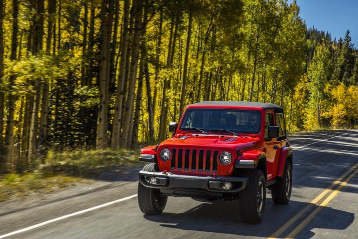 2018 Jeep Wrangler JL Red Exterior