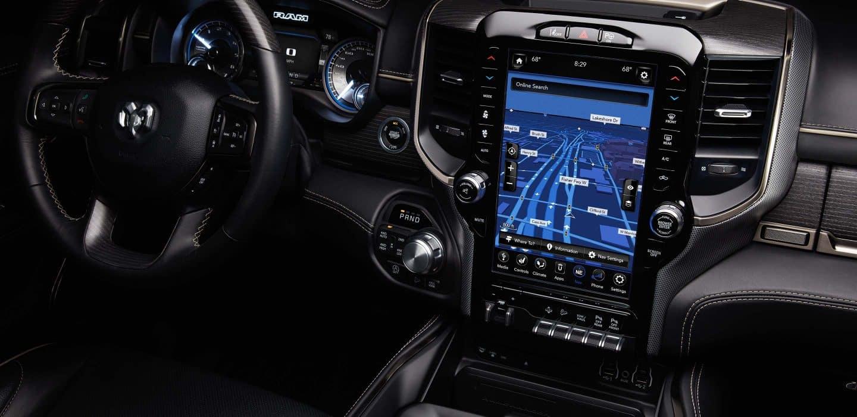 2019 Ram 1500 Interior Touchscreen