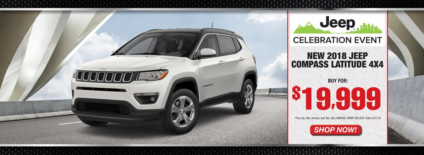2018 Jeep Compass Latitude Royal Gate CDJR Ellisville
