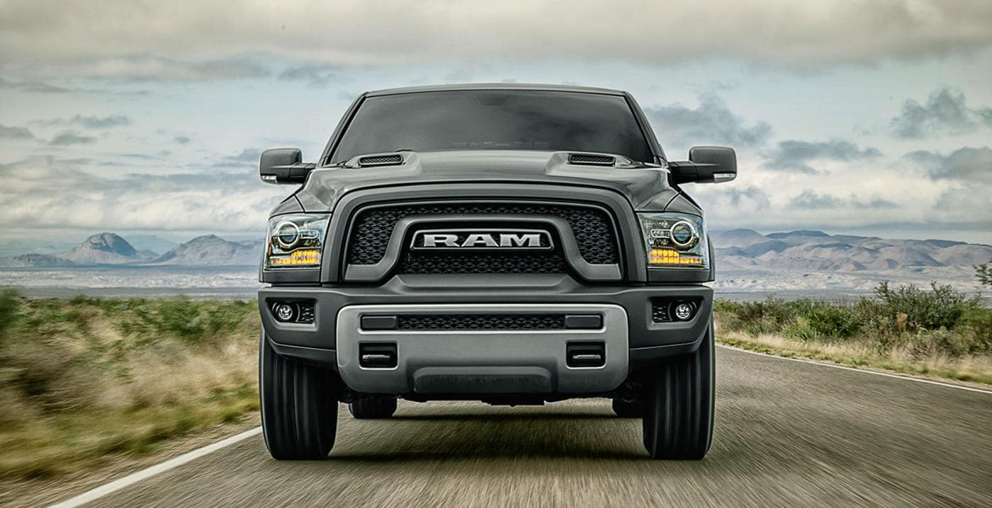 A 2018 Ram 1500 facing the viewer