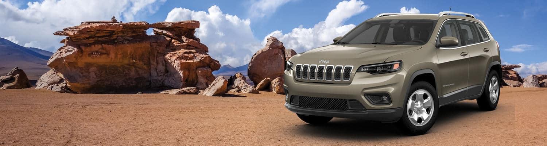 A 2019 Jeep Cherokee