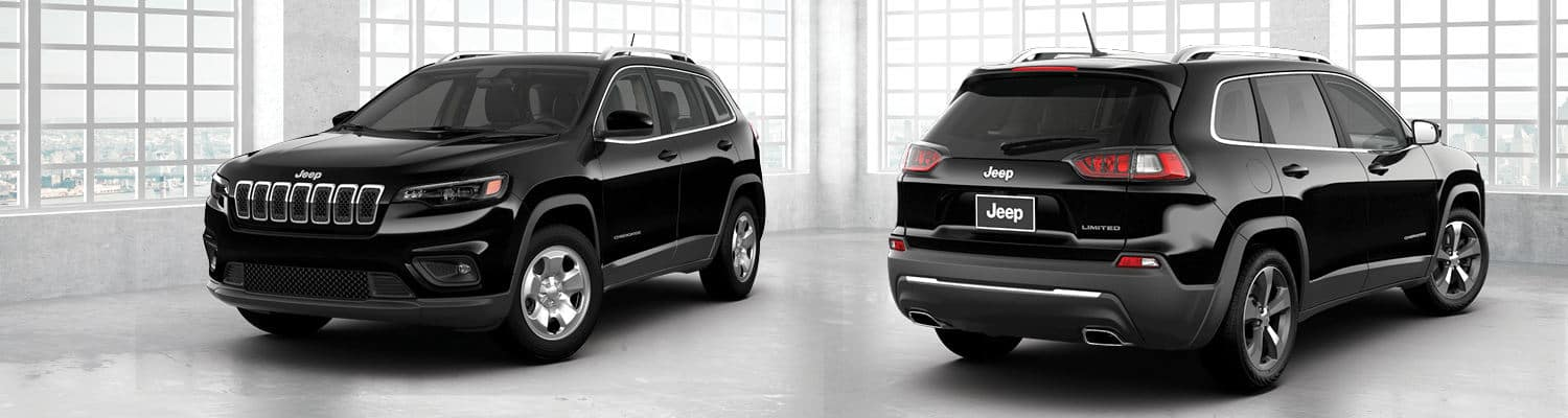 2019 Jeep Cherokee Limited front and back