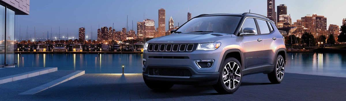 2019 Jeep Compass parkout by water