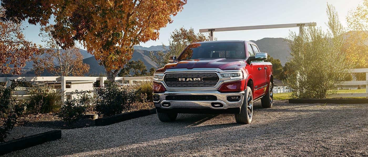 2019 Ram 1500 exterior front view outside farm