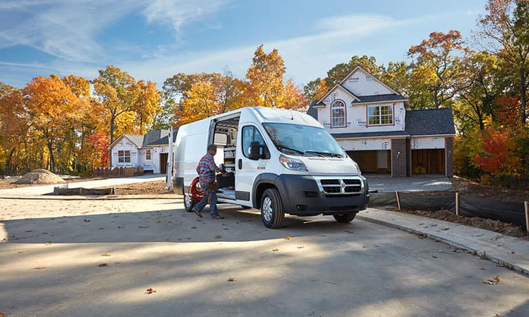 2019 Ram ProMaster 1500 outside home