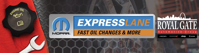 Mopar Express Lane Banner