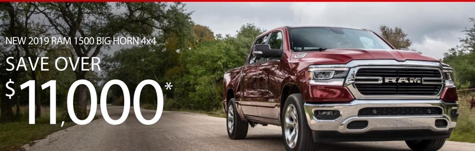 $11,000 off RAM Trucks at David Taylor Ellisville Chrysler Dodge Jeep RAM