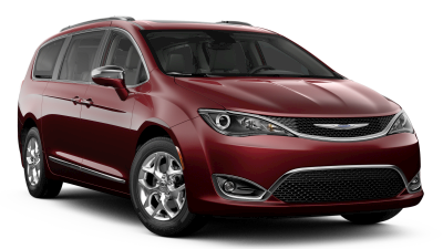 Red 2019 Chrysler Pacifica Limited
