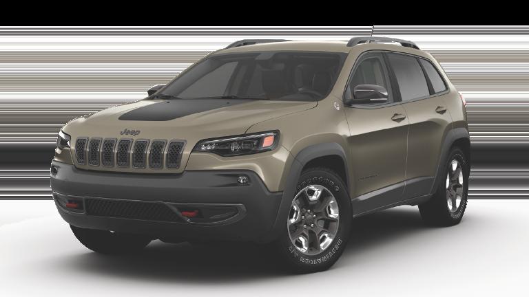 Brown 2019 Jeep Cherokee Trailhawk Elite