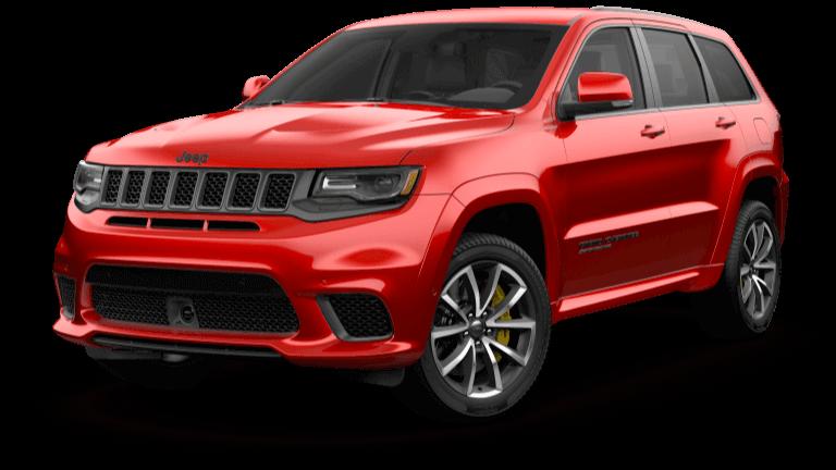 Red 2019 Jeep Grand Cherokee Trackhawk