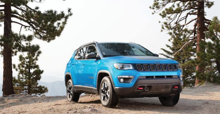 Blue 2019 Jeep Compass exterior